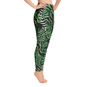 Maggie Green Palm Leggings
