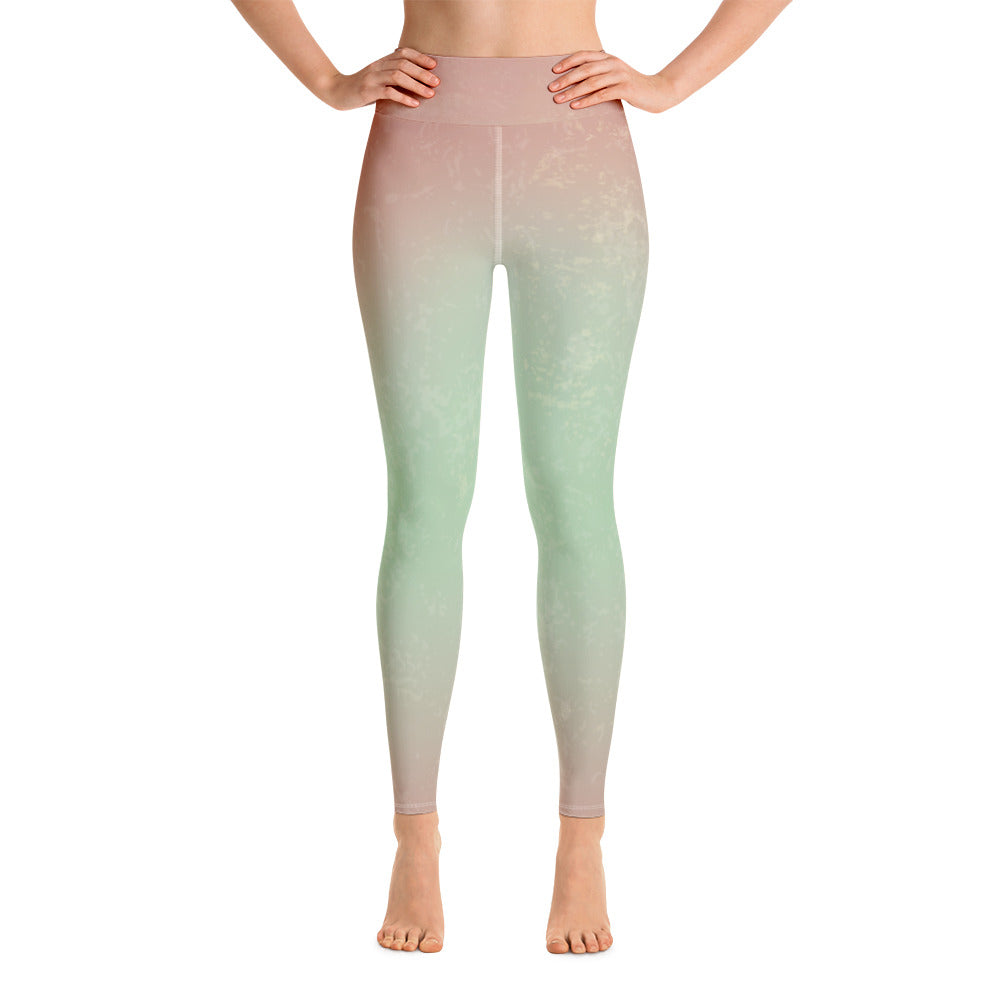 Breathe Green Mermaid Leggings