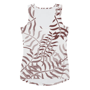 Lola Palm Leaves Tank Top