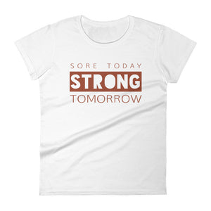 Maggie Strong White Ladies Tee
