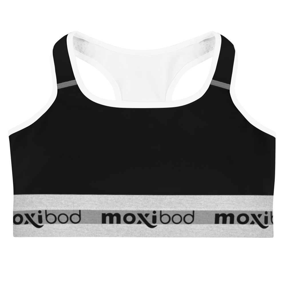 Brooklyn Black Sports Bra