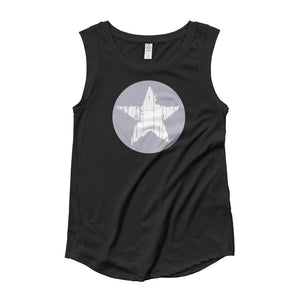 Whitney Star Muscle Tee