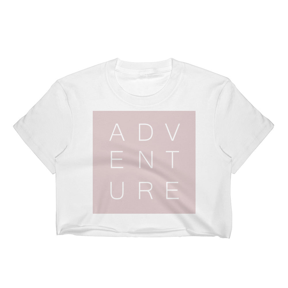Swayzie Pink Adventure Crop Top