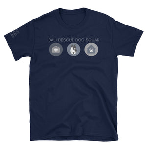 Bali Rescue Dog Squad Charity Tee Navy/Black
