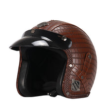 Retro Motorcycle Helmet