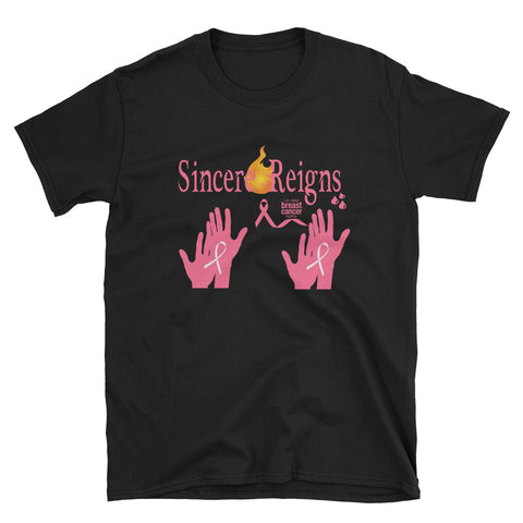 SincereReigns Breast Cancer Awareness Tee-SincereReigns