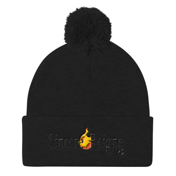 SincereReigns Pom Pom Knit Cap