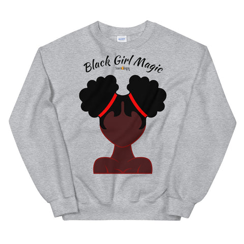 Black Girl Magic Sweatshirt by SincereReigns
