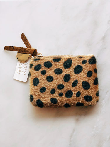 Mini Leopard Coin Purse