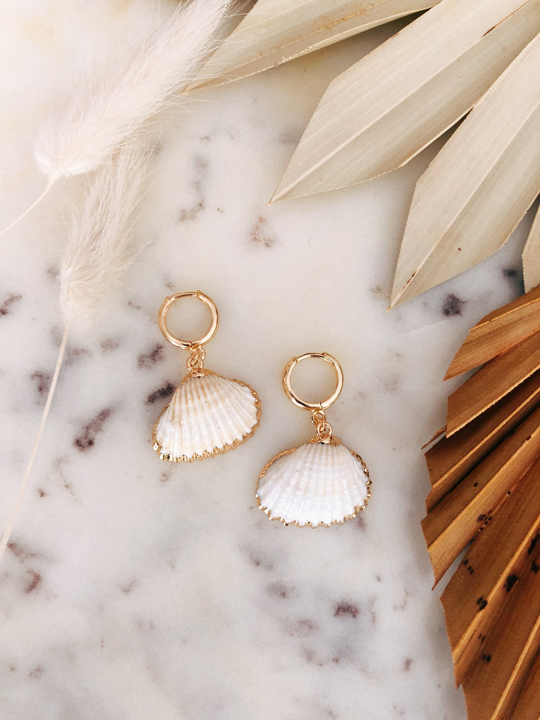 Scallop Shell Hoops