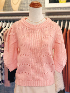 Pink Puff Sweater