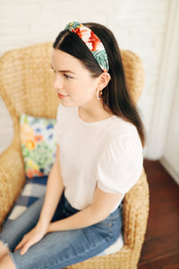 Tropical Print Headband