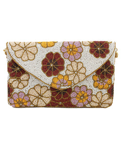 Blossom Bead Clutch