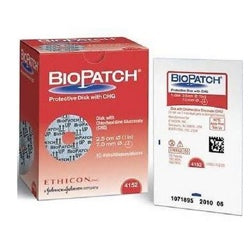 BIOPATCH® Protective Disk with CHG 7MM - 4152 - Medical Supply Surplus