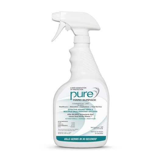 Pure Hard Surface Disinfectant - 32oz - Case of 12 - Medical Supply Surplus
