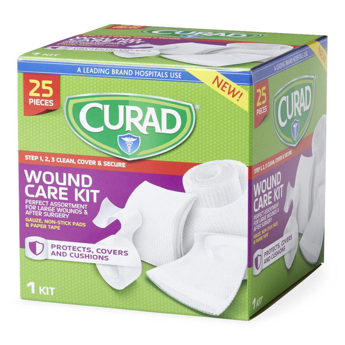 Curad 25-Piece Wound Care Kit - Medical Supply Surplus