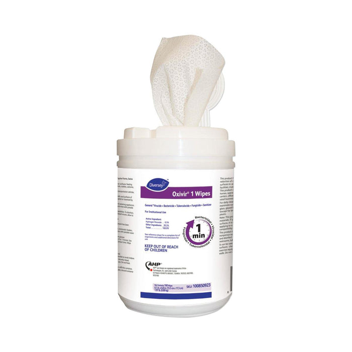 "Oxivir® 1 Surface Disinfectant Wipes 6"" x 7"" - Case of 12 - Medical Supply Surplus"