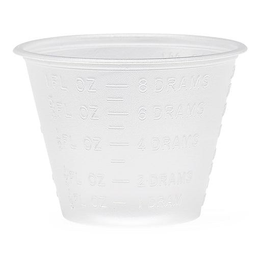 Non Sterile Graduated Medicine Cups 1oz - Medical Supply Surplus