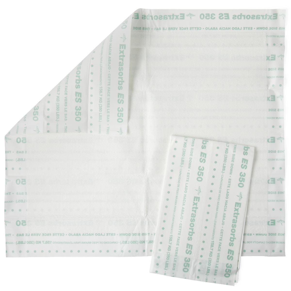 Extrasorbs Extra Strength Drypad Underpads 30 x 36 - 70/Case