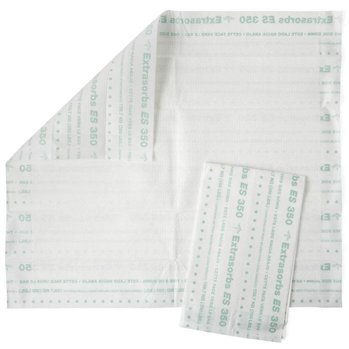 Extrasorbs Extra Strength Drypad Underpads 30 x 36 - 70/Case - Medical Supply Surplus