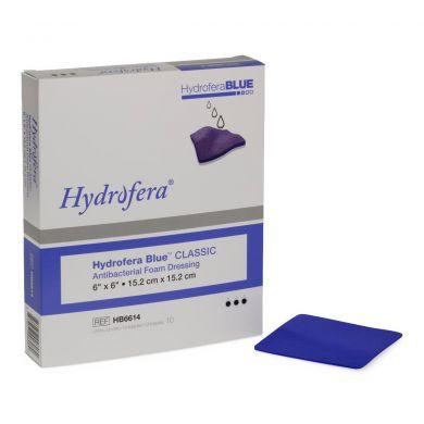 Hydrofera Blue Classic 6 X 6 Inch Square Non-Adhesive without Border - Medical Supply Surplus