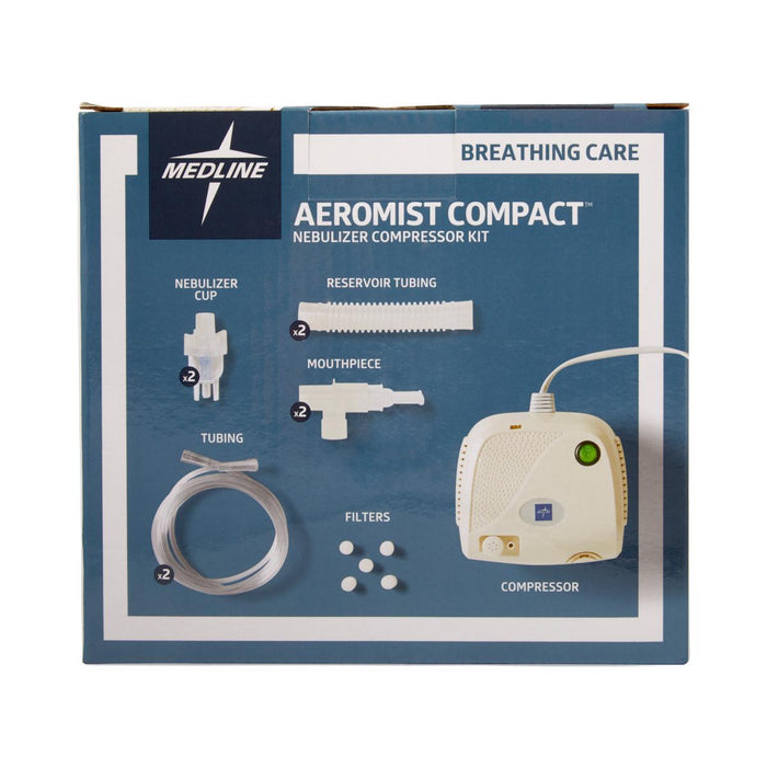 Aeromist Nebulizer Compressor with Reusable Nebulizer Kit - Medical Supply Surplus