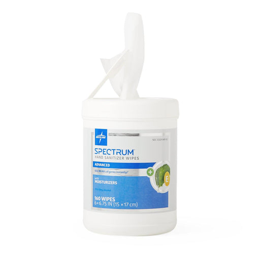 Spectrum Advanced Hand Sanitizer Wipes- Case of 6 - Medical Supply Surplus