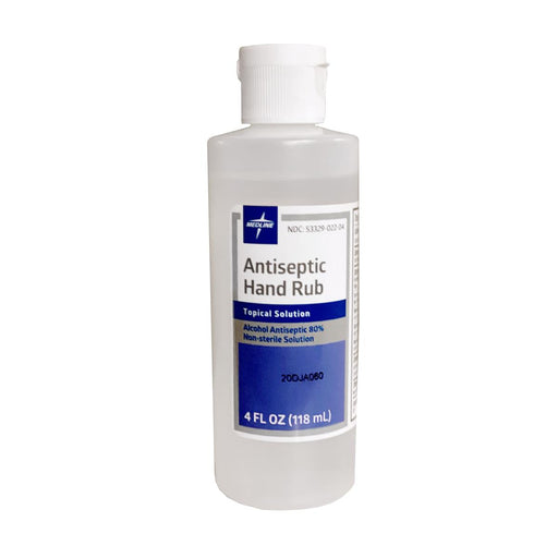 Medline Antiseptic Hand Rub 4oz  - Case of 24 - Medical Supply Surplus