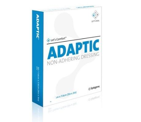 "Adaptic Non Adherent Dressing 3"" x 3""  - 50/Box - Medical Supply Surplus"
