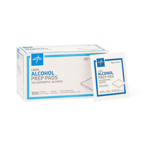 Sterile Alcohol Prep Pads: Large - Case of 1000 - Medical Supply Surplus
