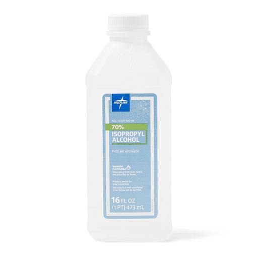 Isopropyl Rubbing Alcohol - 16oz Bottles - Case of 12 - Medical Supply Surplus
