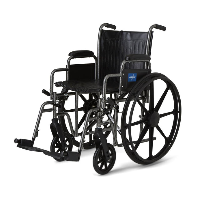 Basic Vinyl Wheelchair - Medical Supply Surplus