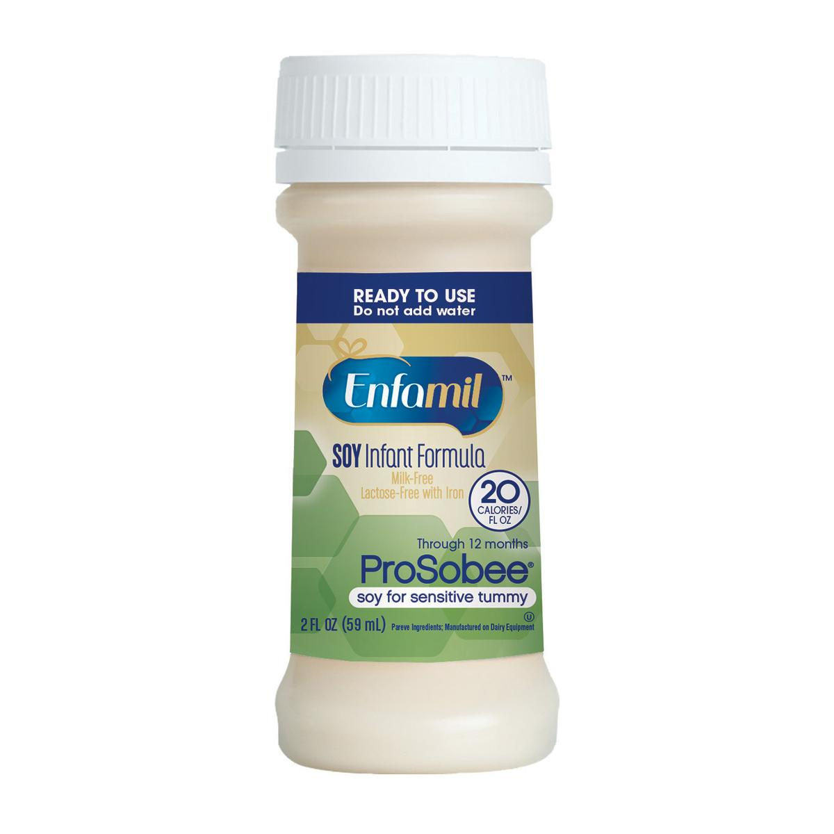 Enfamil Prosobee Lipil Ready to Feed Infant Formula - 48/Case