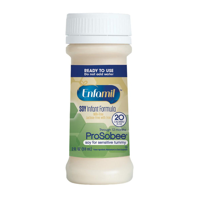 Enfamil Prosobee Lipil Ready to Feed Infant Formula - 48/Case - Medical Supply Surplus