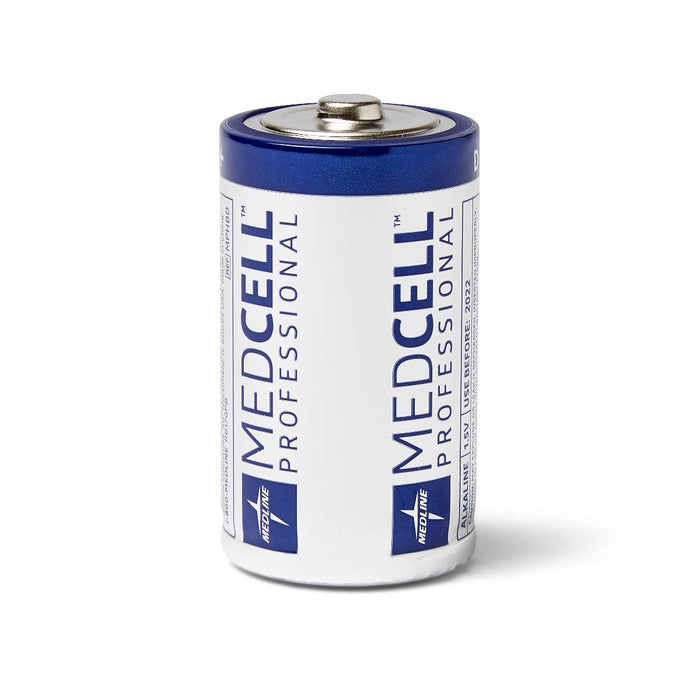 MedCell D Alkaline Batteries- 72 Per Case - Medical Supply Surplus