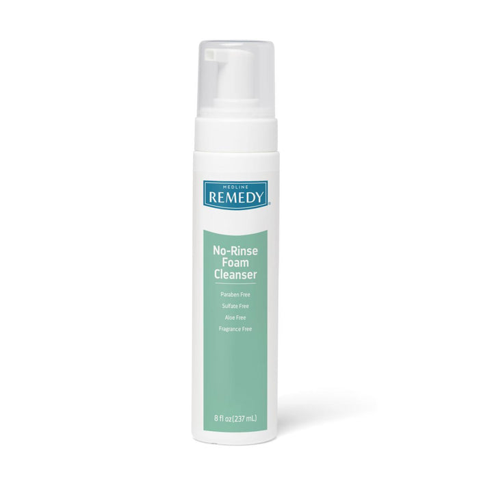 Remedy No-Rinse Cleansing Foam - 8oz - Medical Supply Surplus