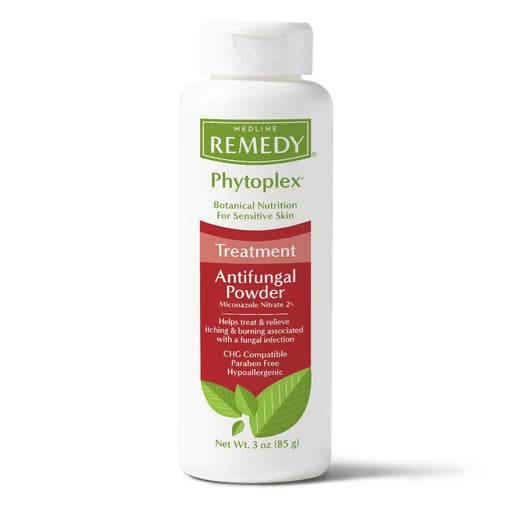 Remedy Phytoplex Antifungal Powder - 3oz Case of 12 - Medical Supply Surplus