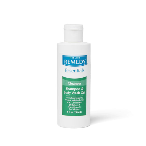 Remedy Essentials Shampoo and Body Wash Gel - 4oz - Medical Supply Surplus