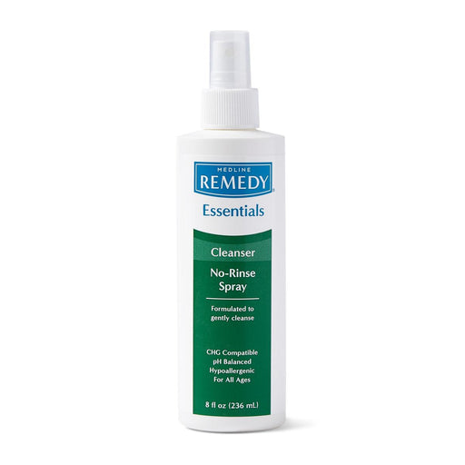 Remedy Essentials No-Rinse Cleansing Spray - 8oz - Medical Supply Surplus