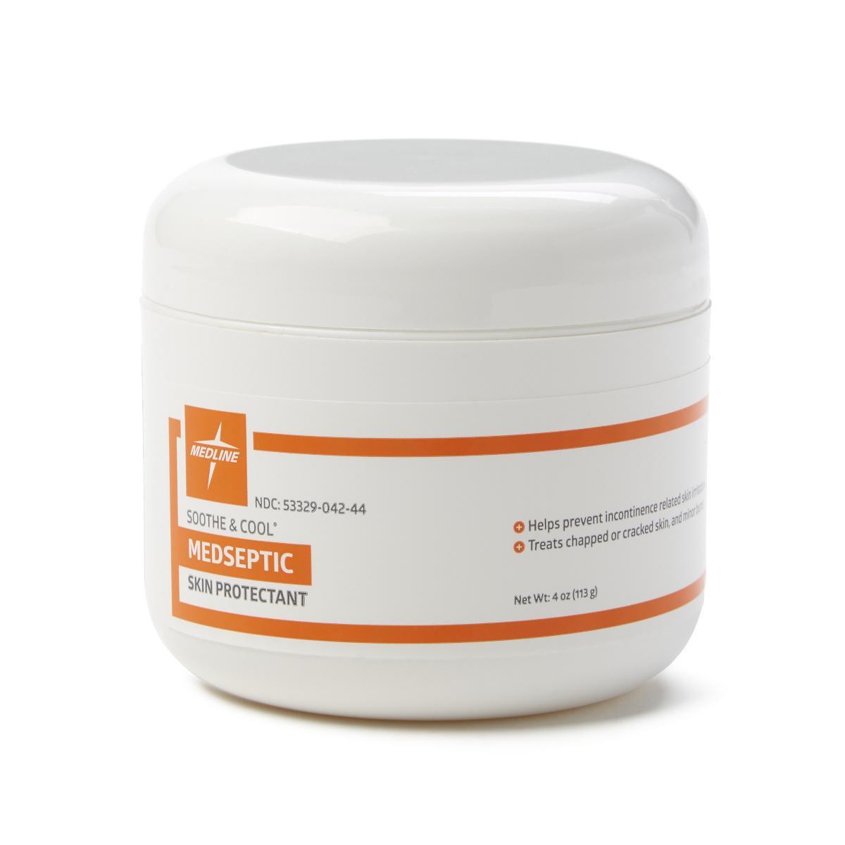 Medseptic Skin Protectant Cream - 4oz Jar - Medical Supply Surplus