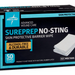Sureprep No-Sting Barrier Wipe Box of 50 - MSC1505Z - Medical Supply Surplus