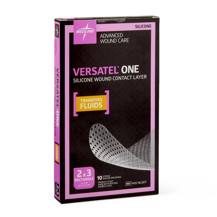 "Versatel One 2"" x 3"" Dressing - Box of 10 - Medical Supply Surplus"