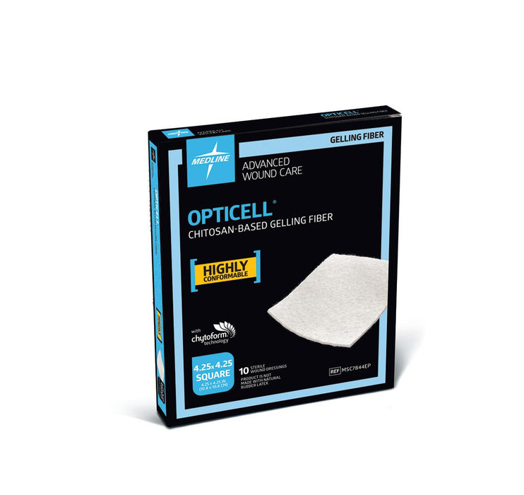 Opticell Gelling Fiber Wound Dressings - Medical Supply Surplus