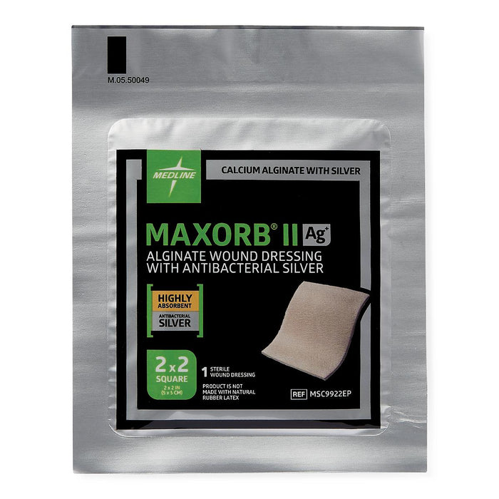 Maxorb II Silver Alginate Dressing - Medical Supply Surplus