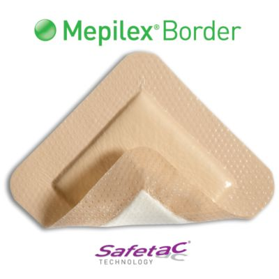 "Mepilex Border 4"" x 4"" - 295300 - Medical Supply Surplus"