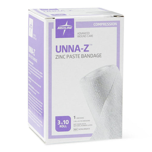 "Unna Boot Compression Wrap with Zinc 3"" x 10yd - NONUNNA13 - Medical Supply Surplus"