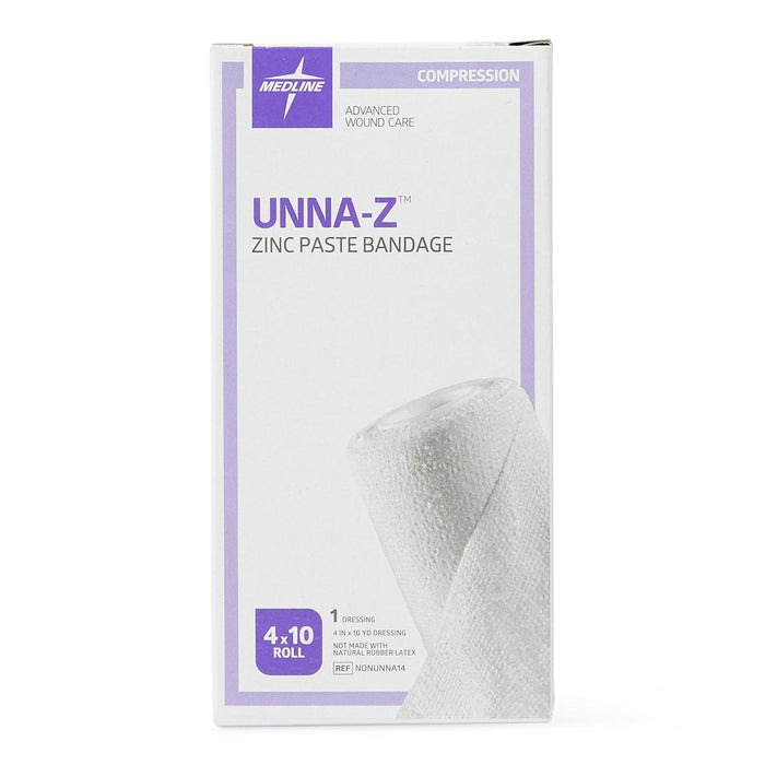 "Unna-Z Boot Compression Wrap with Zinc 4"" x 10yd - NONUNNA14 - Medical Supply Surplus"