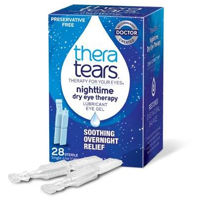 Theratears Ophthalmic Nighttime Eye Drops -28/Box - Medical Supply Surplus