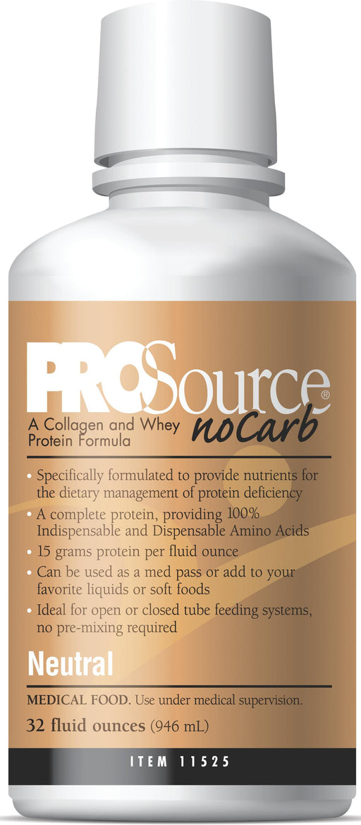 ProSource NoCarb Liquid Protein Supplements - Case of 4 - Medical Supply Surplus