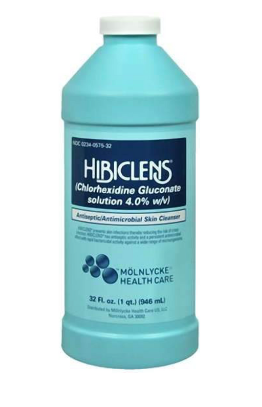 Hibiclens® 4% CHG Surgical Scrub - 32oz Bottle - Medical Supply Surplus